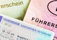 Разпоредби за шофьорските книжки в Германия